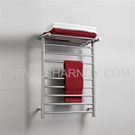 Heated Towel Warmer China Sharndy Electric Heated Towel Warmer With Shelf