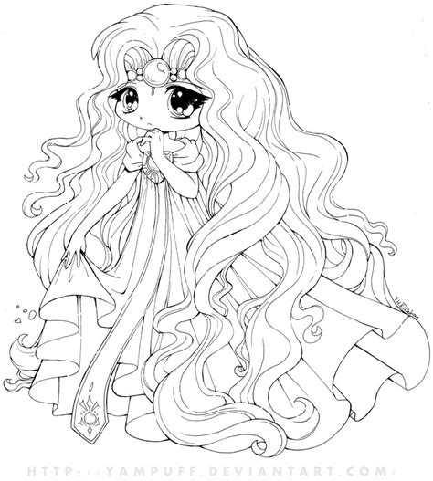 chibi princess coloring pages 15 cute chibi coloring pages printable print color craft
