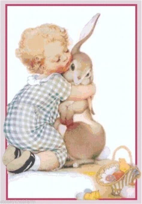 vintage easter pattern 23 best easter in counted cross stitch images on pinterest
