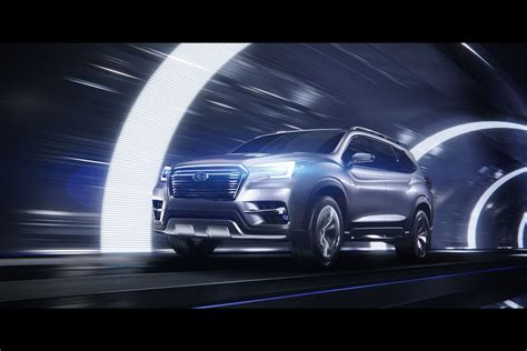 Future Subaru Subaru 2018 Ascent Concept New York Show Subaru Ascent