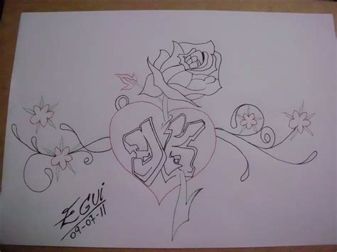imagenes de amor hechas a lapiz corazones para dibujar a lapiz imagui