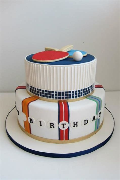 1000 images about table tennis cakes on