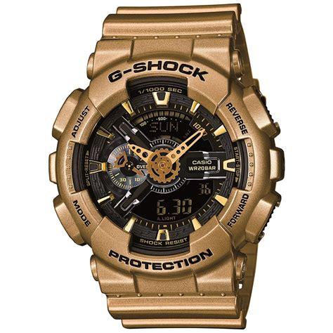 G Shock Gshock Ga 110 Black Gold casio g shock ga 110gd 9ber black gold gold