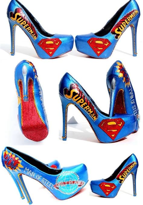 superman shoes discover and save creative ideas
