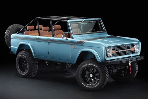 Ford Bronco 2020 4 Door by 1966 Ford Bronco 4 Door By Maxlider Brothers Hiconsumption