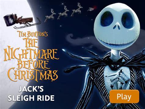 katsella the nightmare before christmas the nightmare before christmas jack s sleigh ride