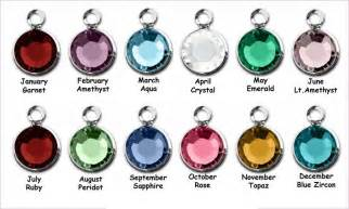 color for june swarovski channel drop birthstone charm by