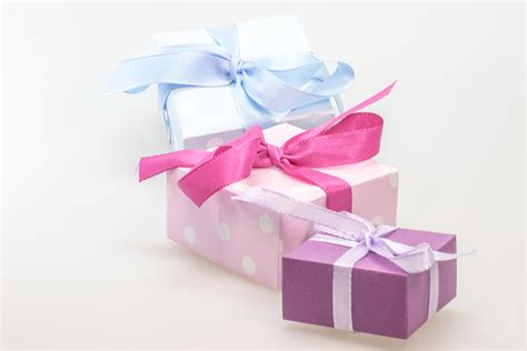 surprise gifts 3 closed boxes 183 free stock photo