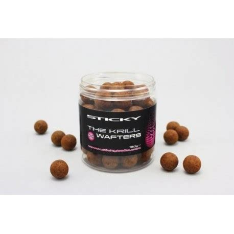 mommyj white bait 100gr sticky baits the krill 16mm wafters todber manor fisheries