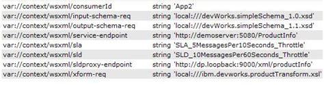 xsl identity pattern enforcing service level agreements using websphere