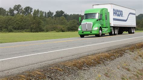 paccar inc paccar reports record revenue in 4q year transport