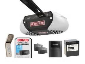 Garage Door Opener Belt Craftsman 1 Hps Belt Drive Garage Door Opener With Gateway
