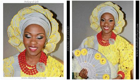 aso oke and lace attires for yoruba traditional weddings nigerian wedding latest aso oke colors