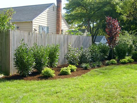 landscaping landscaping ideas backyard fence