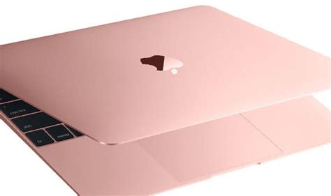 Apple Macbook Mmgm2 Rosegold apple launches new retina macbook with better battery and gold tech style