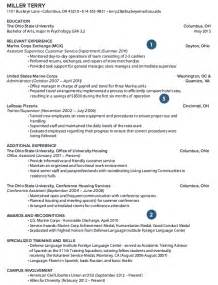Retired Resume Exles by Retired Resume Exle Resumes Design
