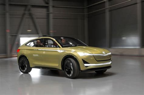 e visio drive skoda vision e concept review autocar