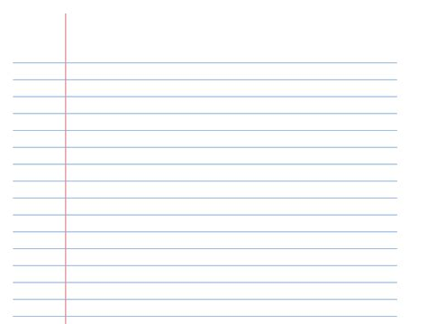 wide ruled paper template exceltemplatenet