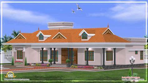 Kerala House Single Floor Plans With Elevations kerala style single floor house elevations youtube