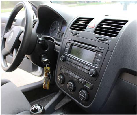 Autoradio X Golf by Vw Golf V Autoradio Einbauset 1 Din Mit Fach
