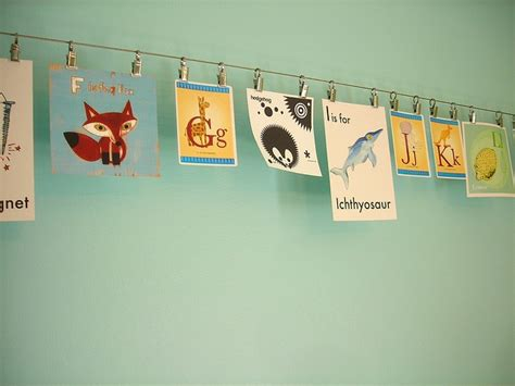 hang photos from wire photo wire to hang childrens home decor