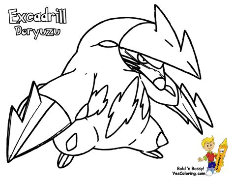 pokemon excadrill coloring pages quick pokemon black and white coloring pages drilbur