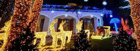 holiday lights tour reservation luxxor limousine coach bus
