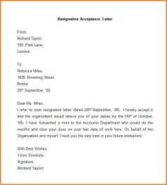 Resignation Acceptance Letter Citehr 12 Resignation Acceptance Letter Writable Calendar