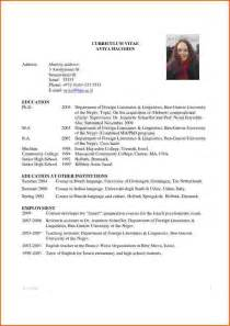Curriculum Vitae Research by Resume Curriculum Vitae Education Research Mit Edu