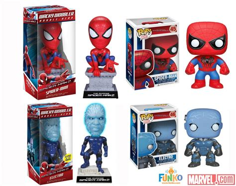 Funko Pop Marvel The Amazing Spider 2 Spider 45 1 electro archives page 2 of 2 news marvel