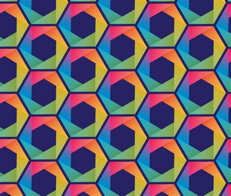 vector pattern hex put a hex on your designs with this hexagon pattern vector