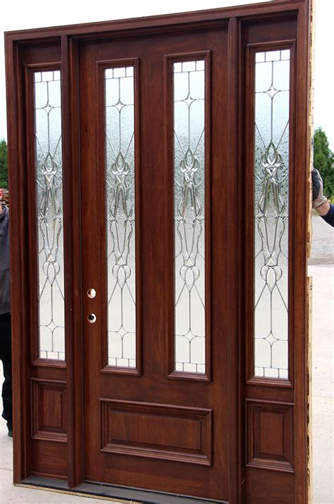 Mahogany Front Door And Sidelights Pictures Of Front Doors With Sidelights