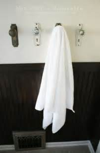 bath towel hook rack creative ways to hang bathroom towels