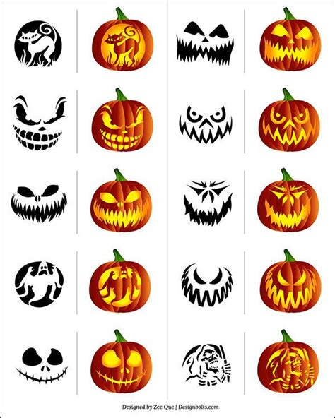 best 25 scary pumpkin carving ideas on
