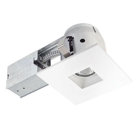 globe electric recessed lighting installation globe electric 4 in white led ic rated swivel spotlight