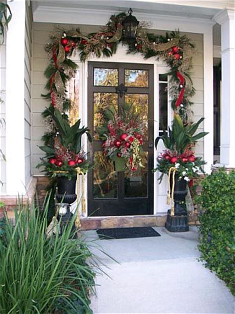 christmas front door decorations christmas front door