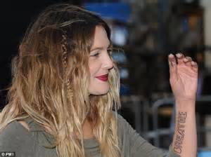 drew barrymore undergoes painful surgery to remove