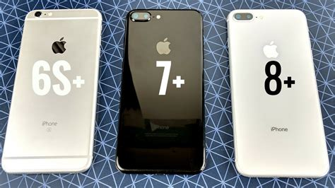iphone 6s plus vs iphone 7 plus vs iphone 8 plus ios 11 2