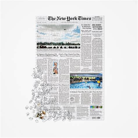 new york times magazine section front page puzzle nytstore