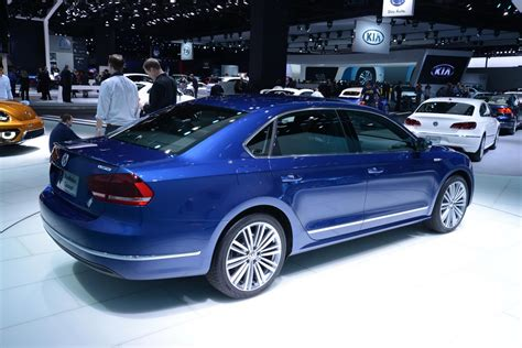 blue volkswagen passat vw s passat bluemotion concept doesn t look like a study