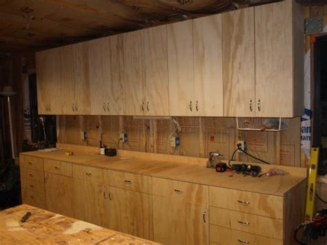 Cabinets Shop Building Shop Cabinets Using Bed Woodoperating Plans To