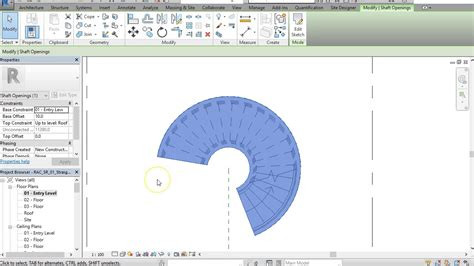 pattern a sketch in creo how to draw a spiral stairs in revit youtube