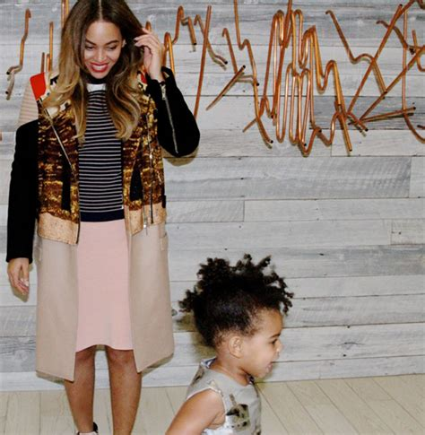 blue ivy new hairdo beyonce on blue ivy s hair queen bey shows off new style