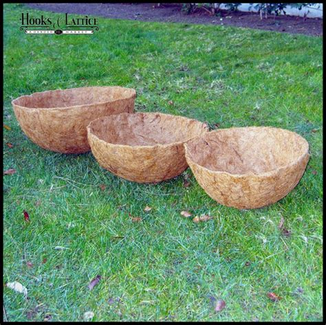 Coconut Planter Liners by Coconut Liners For Window Boxes Planters Hooks Lattice