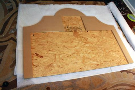 upholstery how to do corners diy upholstered platform bed with curved fabric headboard