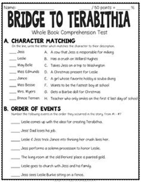 genre quiz multiple choice by kristin reinhardt tpt comprehension questions for every chapter in bridge to