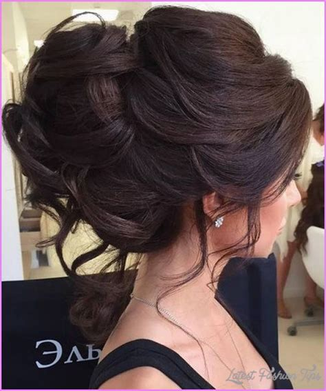 Bridal Hairstyles For Thick Hair updos for thick hair latestfashiontips