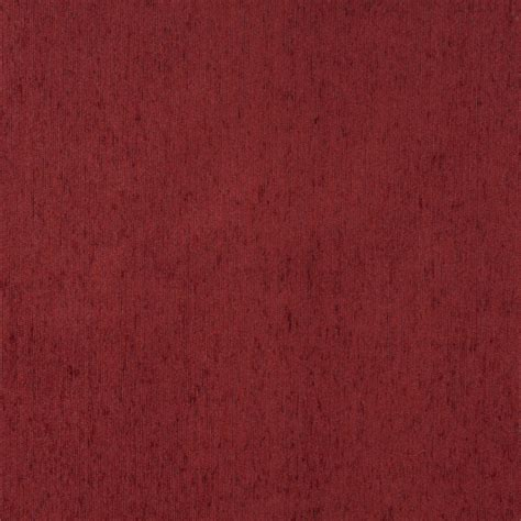 red chenille upholstery fabric brick red solid chenille upholstery fabric by the yard