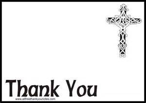 Thank You Note Stationery Template Free Religious Thank You Notes And Thank You Cards