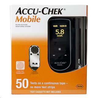 Accu Mobil Freed accu chek performa blood glucose meter kit
